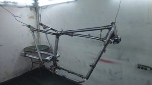 1967 Triumph Bonneville T120 - Original Frame part For Sale