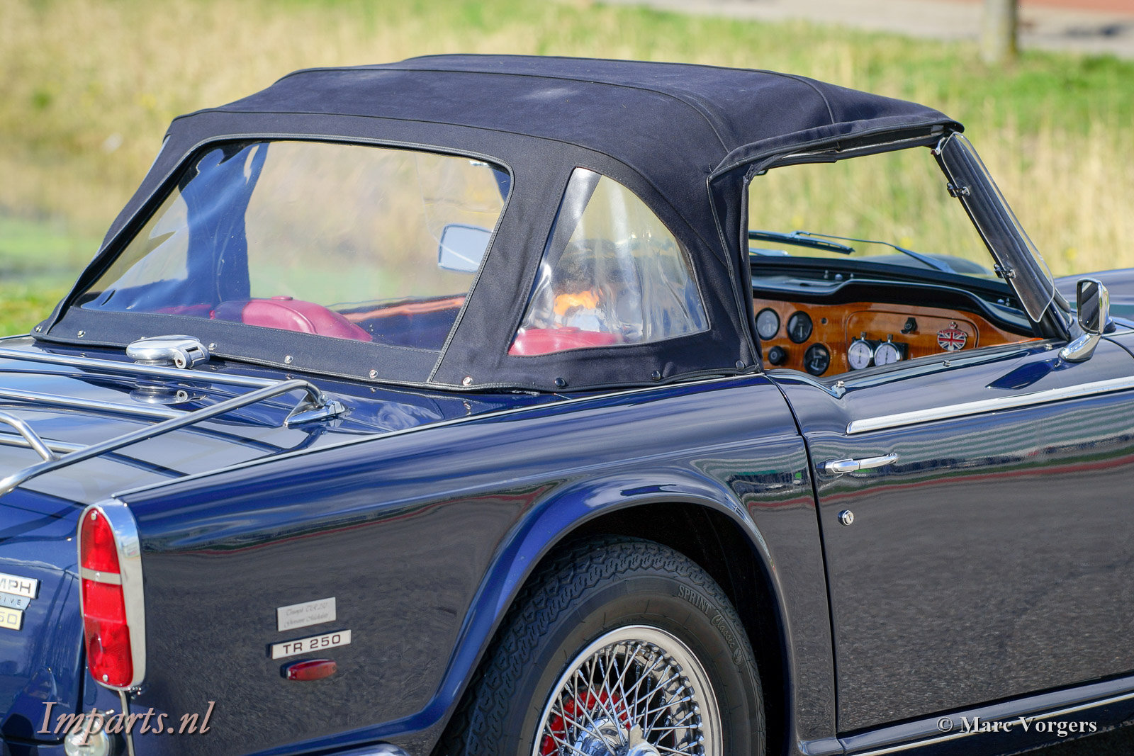 1967 Excellent Triumph TR250 with Overdrive LHD For Sale (picture 5 of 6)