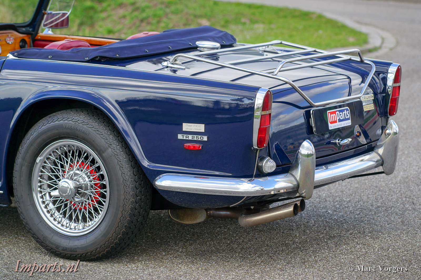 1967 Excellent Triumph TR250 with Overdrive LHD For Sale (picture 6 of 6)