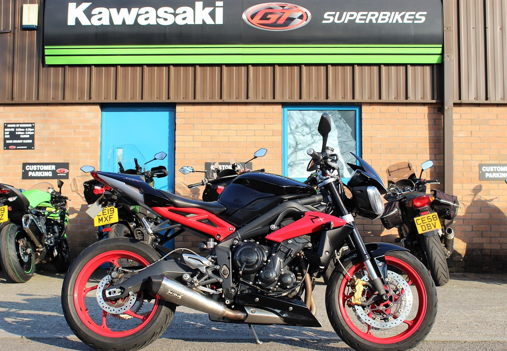 2016 16 Triumph Street Triple 675 Rx Abs For Sale Car And Classic