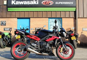 2016 16 Triumph Street Triple 675 RX ABS For Sale