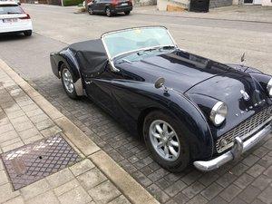 1960 Triumph TR3A for sale For Sale