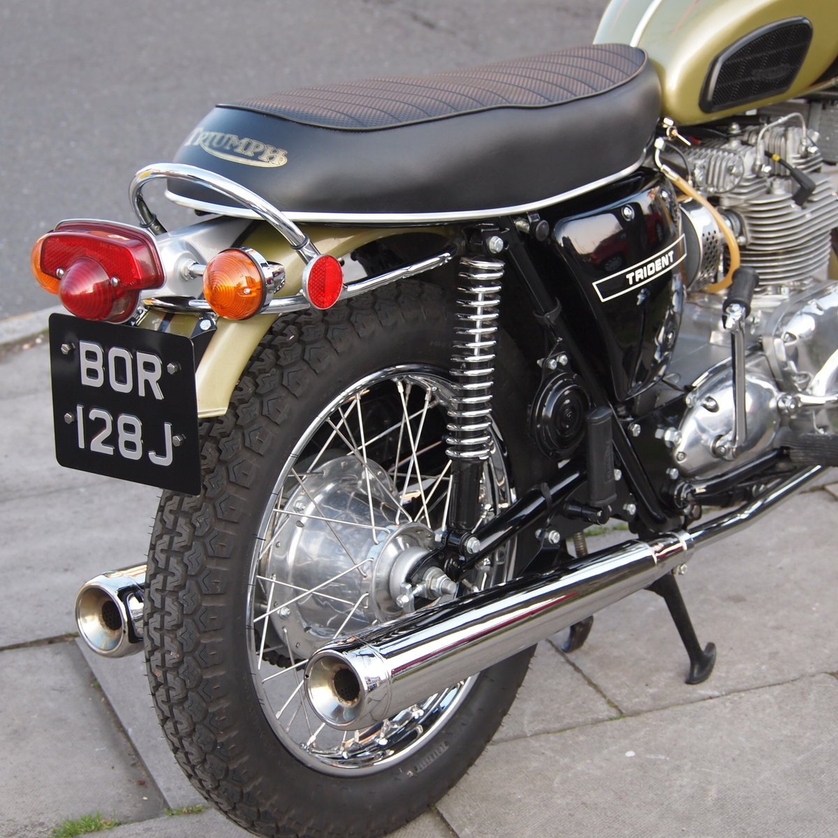 1971 T150T Trident, UK Bike, Concours d'elegance Condition. SOLD (picture 3 of 6)