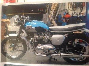 1962 Triumph Bonneville T120 For Sale