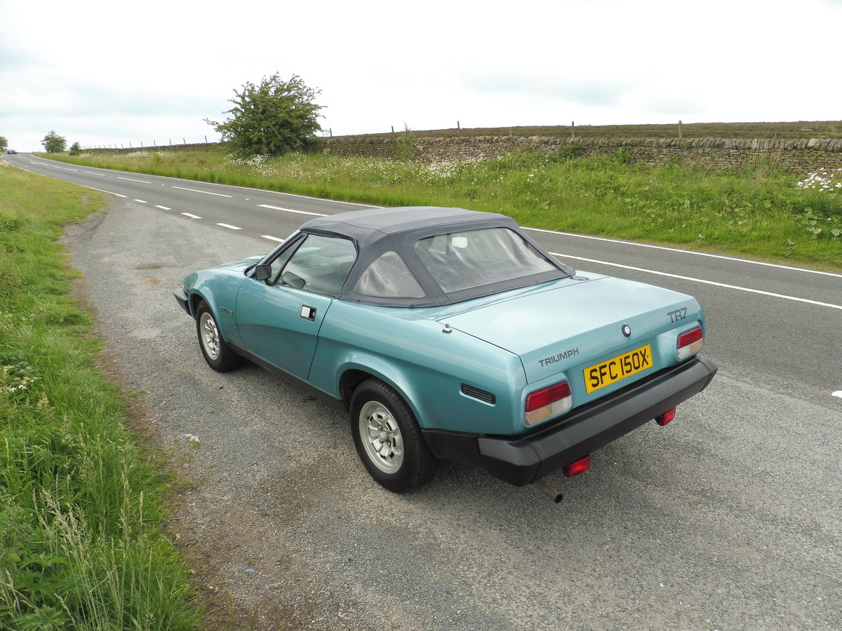 1981 TR7 convertible - fantastic provenance SOLD (picture 2 of 6)