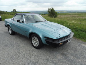 1981 TR7 convertible - fantastic provenance SOLD
