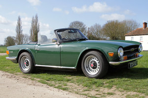 1970 Triumph TR6 PI (150 BHP British Car) For Sale