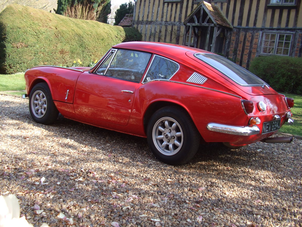 1970 GT6 MK2 OVERDRIVE,SUPER CAR LOADS OF HISTORY/PHOTO's SOLD SOLD (picture 3 of 6)