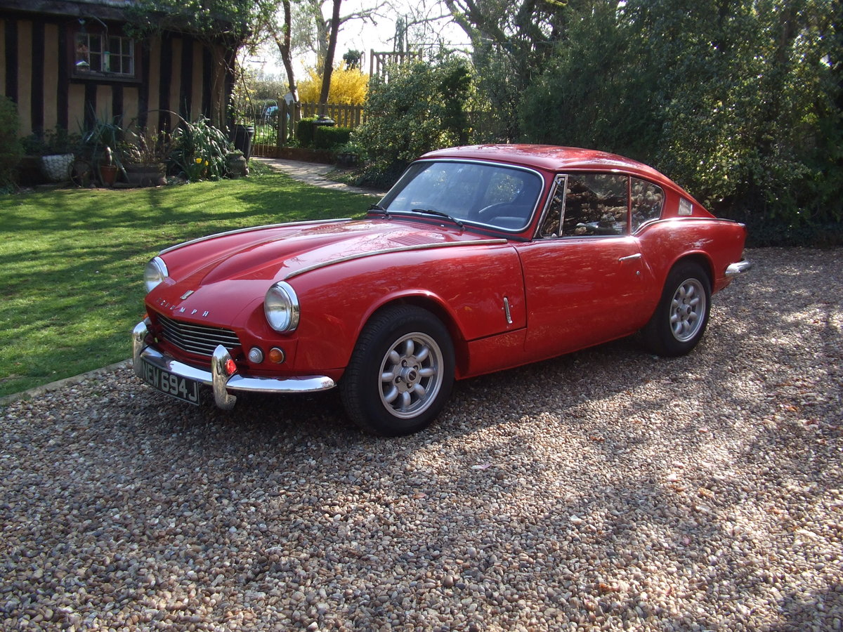 1970 GT6 MK2 OVERDRIVE,SUPER CAR LOADS OF HISTORY/PHOTO's SOLD SOLD (picture 4 of 6)