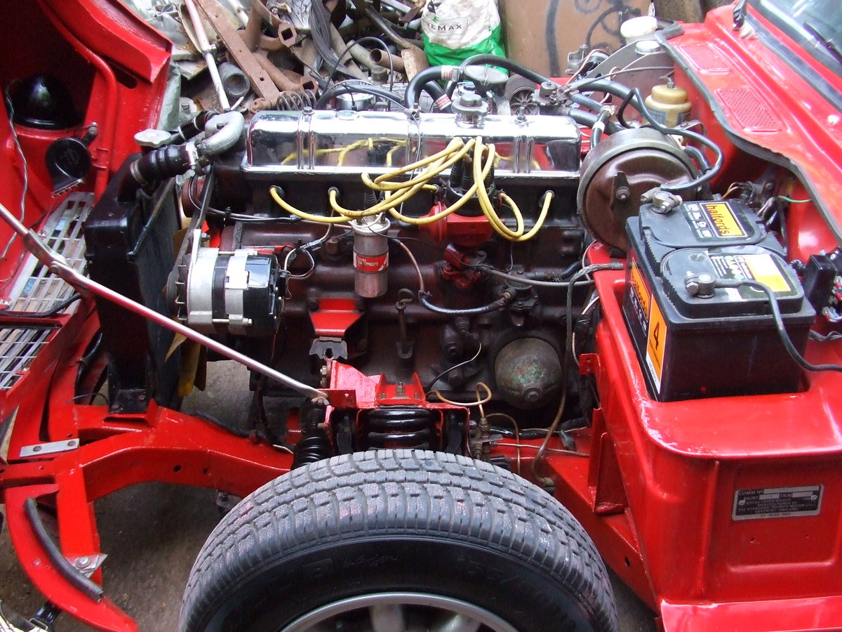 1970 GT6 MK2 OVERDRIVE,SUPER CAR LOADS OF HISTORY/PHOTO's SOLD SOLD (picture 5 of 6)