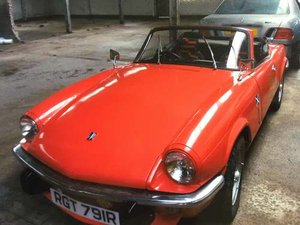 1976 Triumph Spitfire 1500 at Morris Leslie Auction 25th May SOLD by Auction