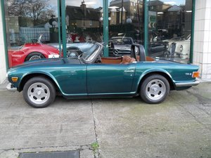 1973 Triumph TR6 RHD UK Car For Sale