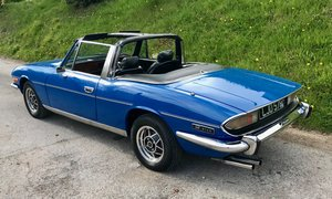 Triumph Stag 1975 3.0 V8 Manual + Overdrive For Sale