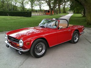 1971 Beautiful Uk registered TR6