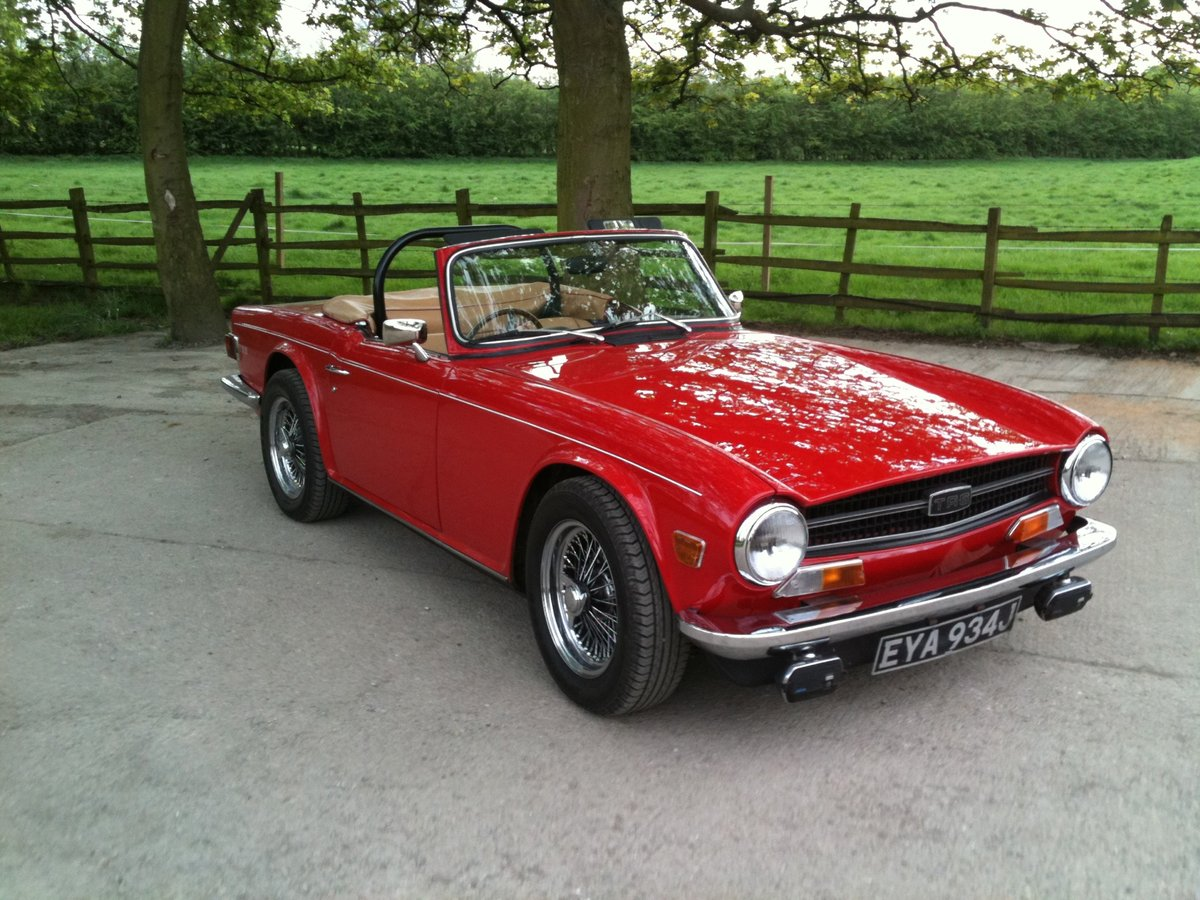 1971 Beautiful Uk registered TR6 For Sale (picture 2 of 6)