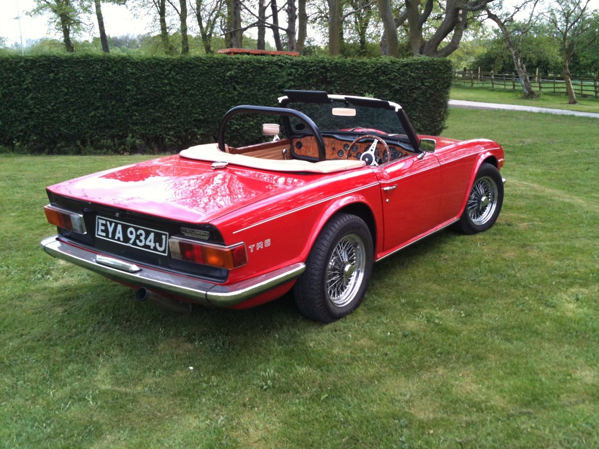 1971 Beautiful Uk registered TR6 For Sale (picture 3 of 6)