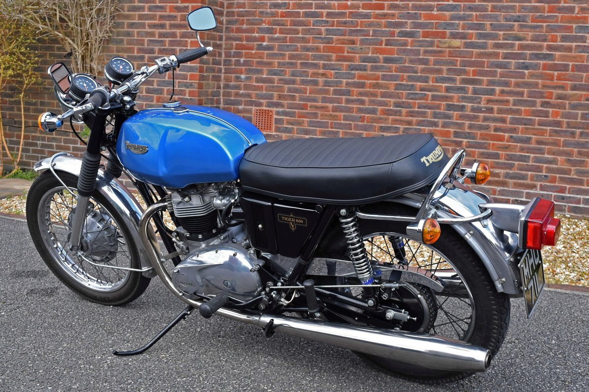 1973 Triumph Tiger 650 TR6RV For Sale (picture 1 of 6)