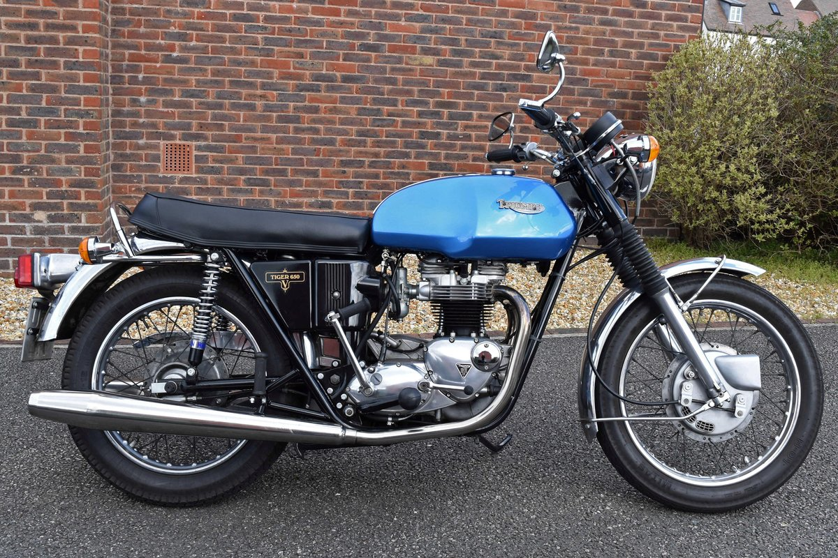 1973 Triumph Tiger 650 TR6RV For Sale (picture 2 of 6)