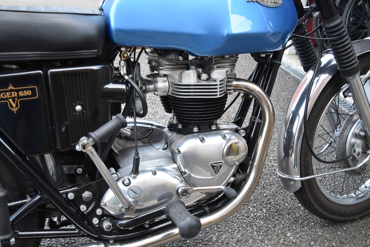 1973 Triumph Tiger 650 TR6RV For Sale (picture 3 of 6)