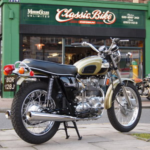 1971 T150T Trident, UK Bike, Concours d'elegance Condition. For Sale