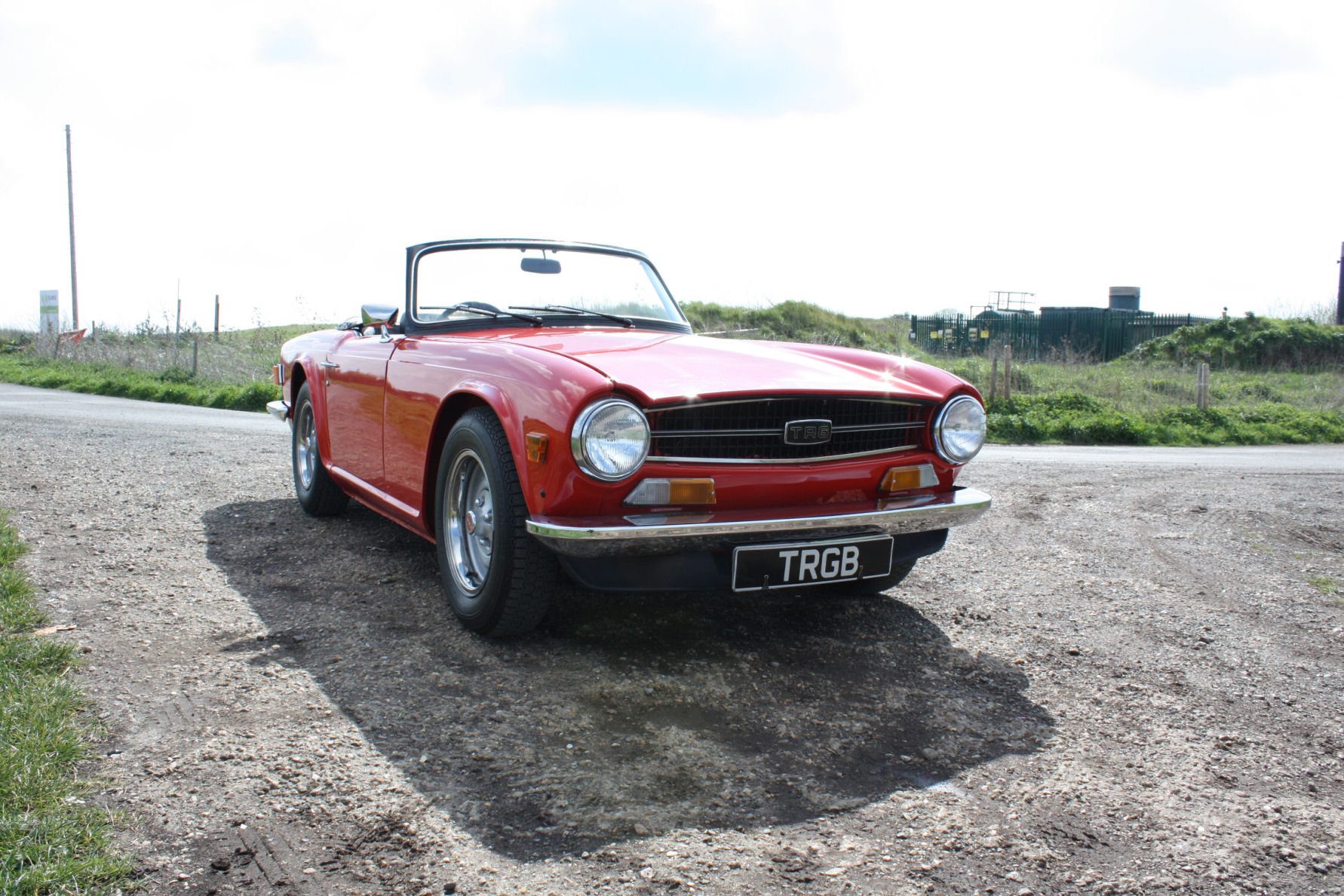 Tr6 1974 Original Fuel Injected Uk Car With Overdrive Sold Car