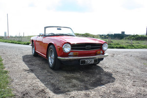 TR6 1974. ORIGINAL FUEL INJECTED UK CAR WITH OVERDRIVE SOLD