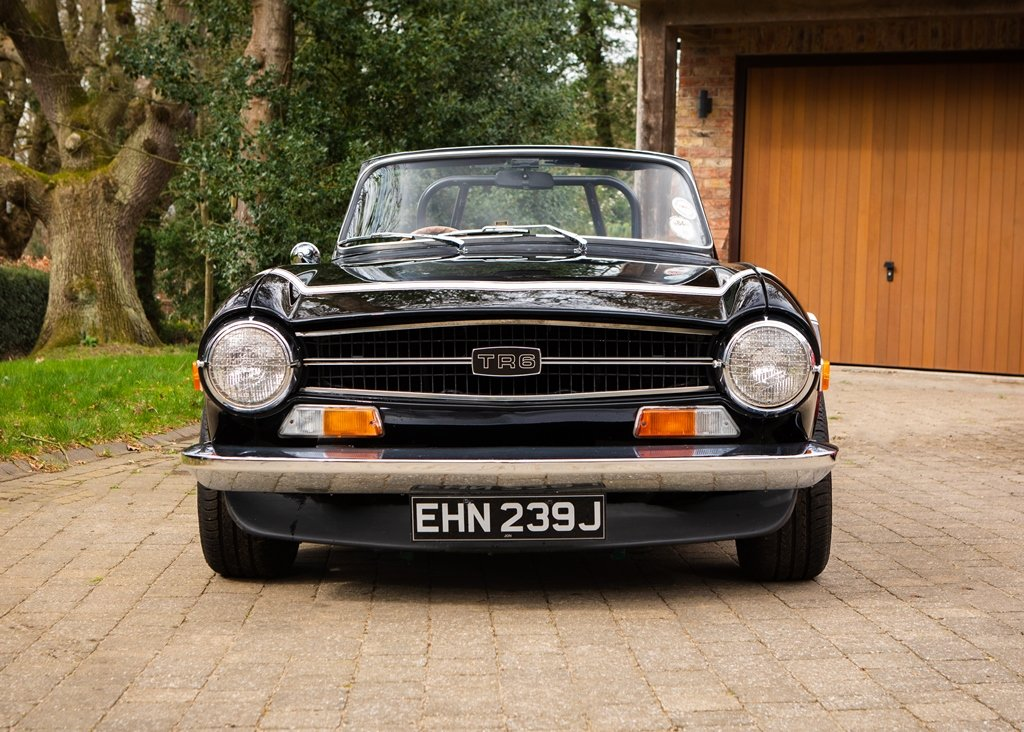 1970 Triumph TR6 SOLD by Auction (picture 1 of 6)