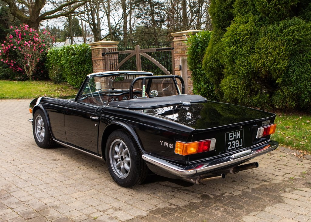 1970 Triumph TR6 SOLD by Auction (picture 3 of 6)