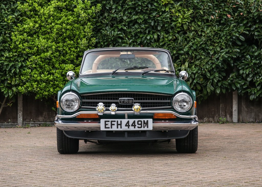 1974 Triumph TR6 SOLD by Auction (picture 1 of 6)