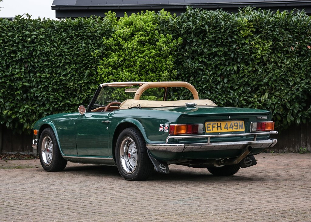 1974 Triumph TR6 SOLD by Auction (picture 3 of 6)