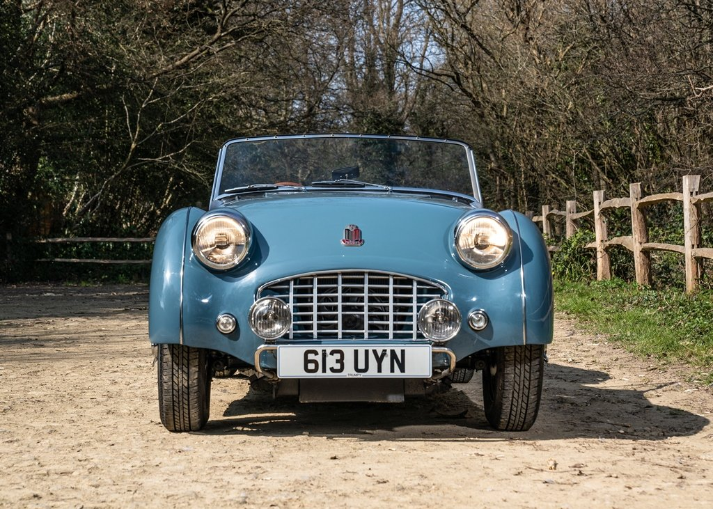 1953 Triumph TR3 Convertible SOLD by Auction (picture 1 of 6)