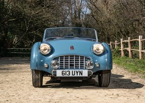 1953 Triumph TR3 Convertible For Sale by Auction