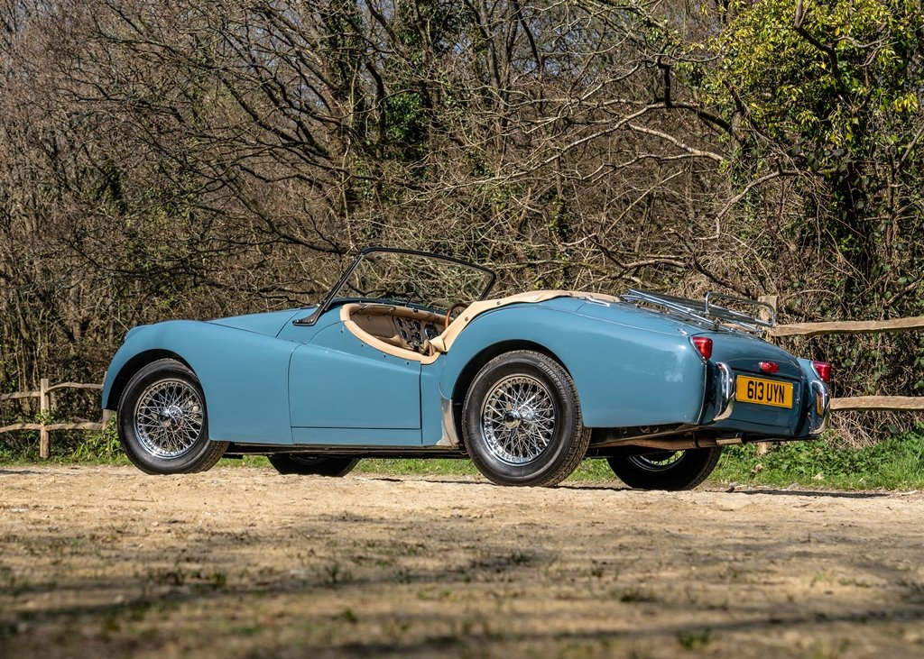 1953 Triumph TR3 Convertible SOLD by Auction (picture 3 of 6)