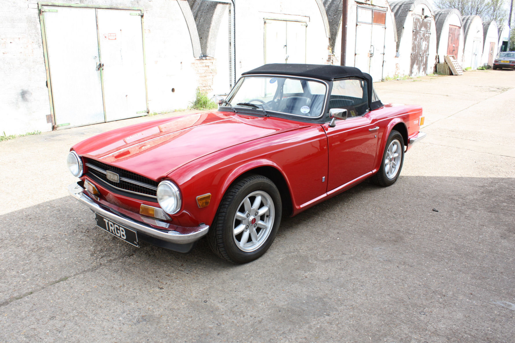 Tr6 1974 Original Uk Fuel Injected Car With Overdrive Sold Car