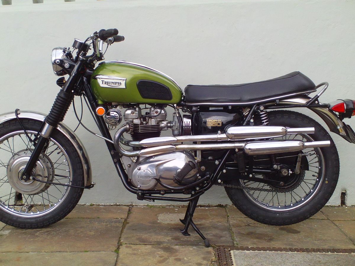 1970 TRIUMPH TROPHY TR6 C SOLD (picture 1 of 6)