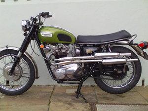 1970 TRIUMPH TROPHY TR6 C SOLD