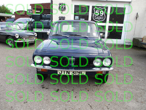 1972 Triumph Dolomite For Sale