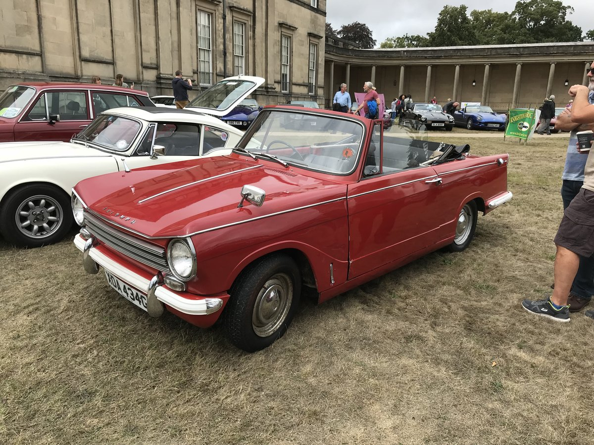 1969 FOR HIRE: '69 Triumph Herald 13/60 convertible For Hire (picture 6 of 6)