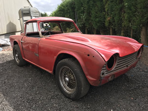 1967 Triumph TR4A (IRS) - Project Car - On The Market SOLD by Auction