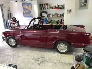 1968 TRIUMPH HERALD 13/60 CONVERTIBLE FROM HCC