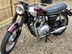 1970 Triumph Bonneville T120R Bonny 650cc Twin