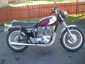 1972 Triumph trident t150v matching numbers For Sale