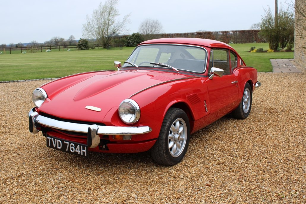 1969 TRIUMPH GT6 MK2 2.5L - SPECIAL CAR - £23,950 For Sale (picture 2 of 12)