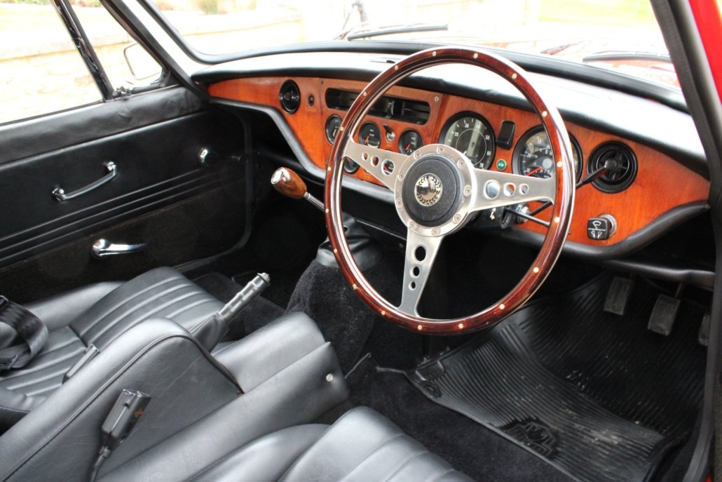 1969 TRIUMPH GT6 MK2 2.5L - SPECIAL CAR - £23,950 For Sale (picture 5 of 12)