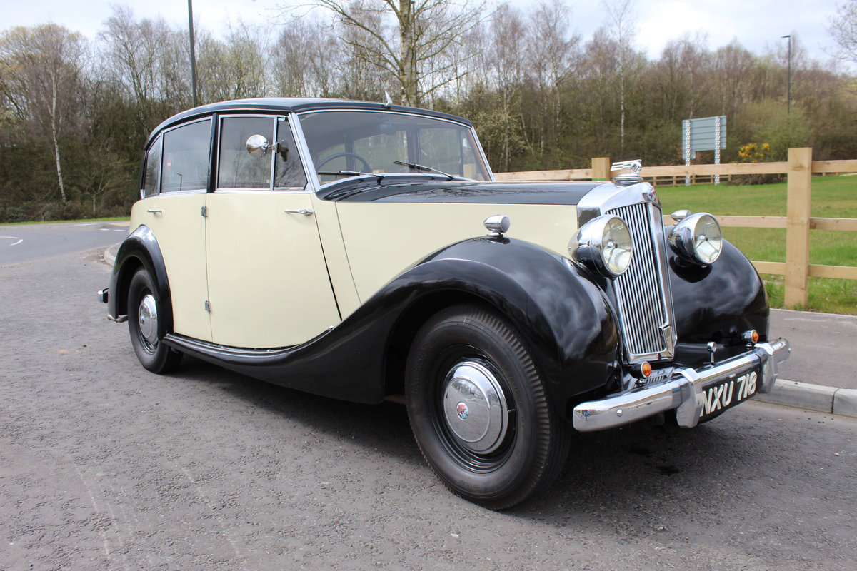 1952 Triumph Renown 2000  Reputedly 28,000 miles SOLD (picture 1 of 6)