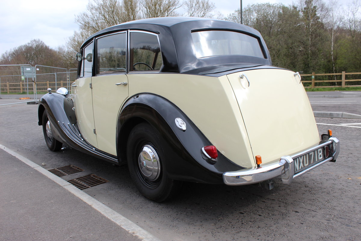 1952 Triumph Renown 2000  Reputedly 28,000 miles SOLD (picture 3 of 6)