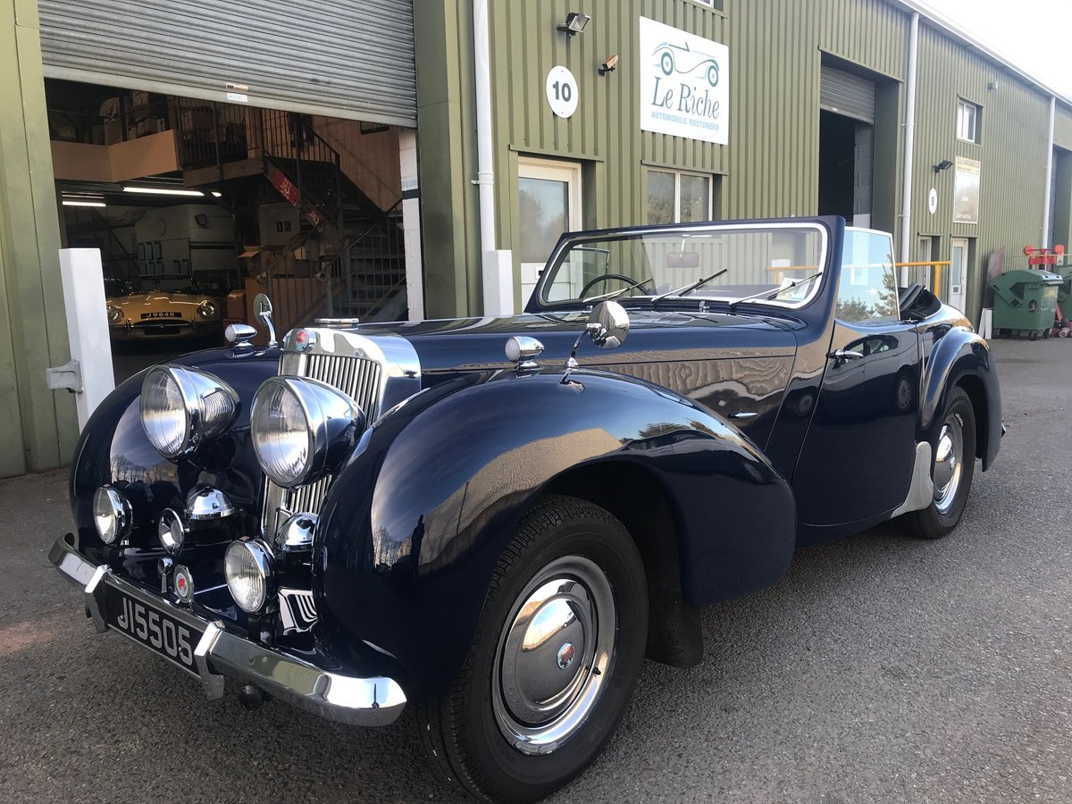 1949 Triumph Roadster 2000 older restoration, well maintained For Sale (picture 2 of 6)