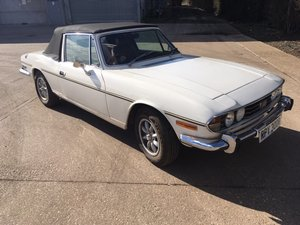 1977 Triumph Stag 3.0L V8 Manual - White For Sale