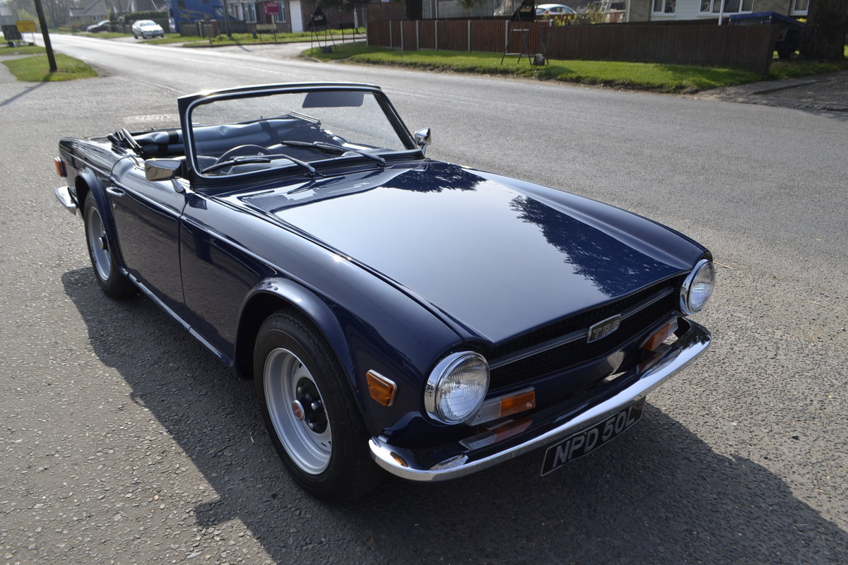 TR6 (1972) - extensive renovation  For Sale (picture 1 of 10)