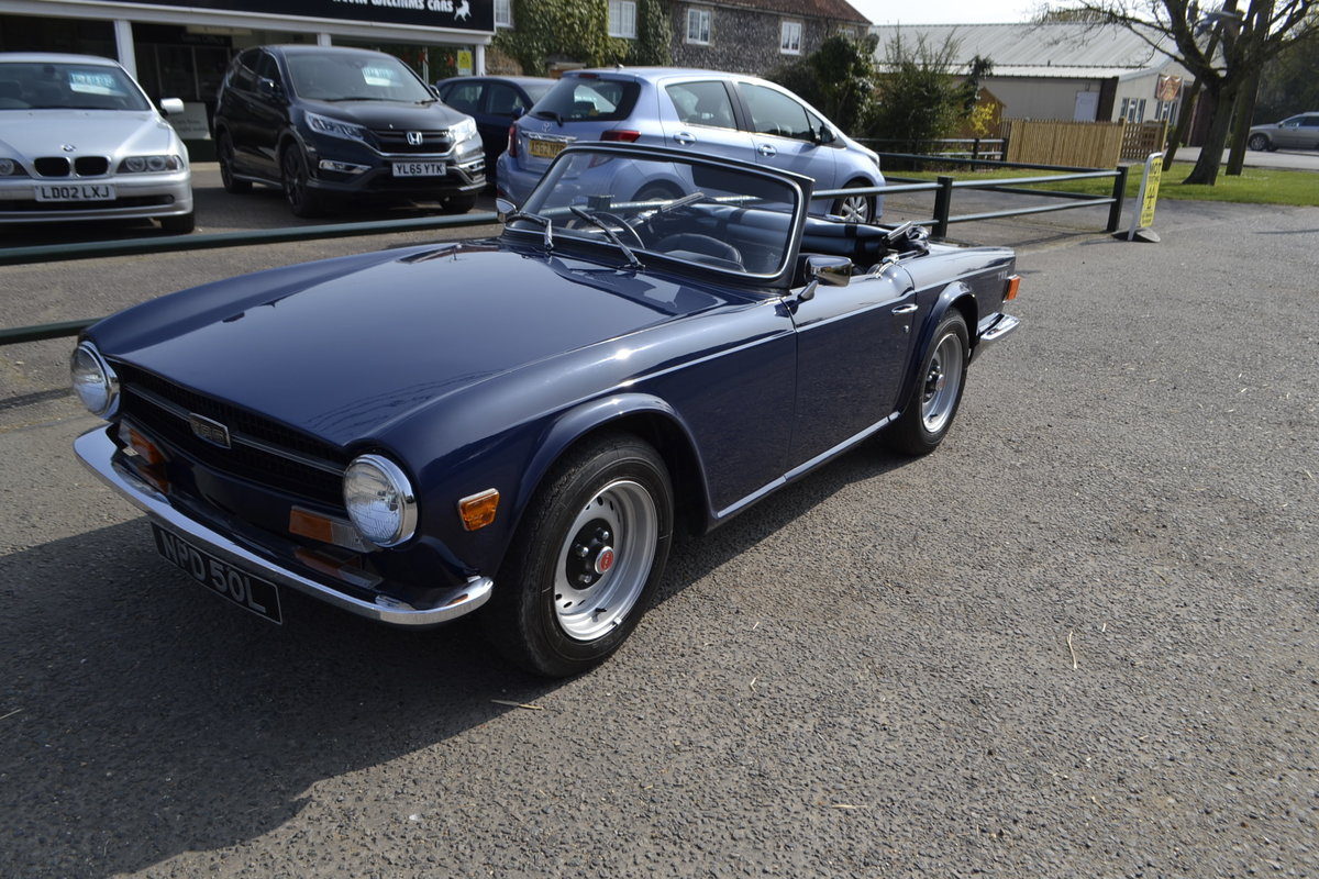 TR6 (1972) - extensive renovation  For Sale (picture 2 of 10)